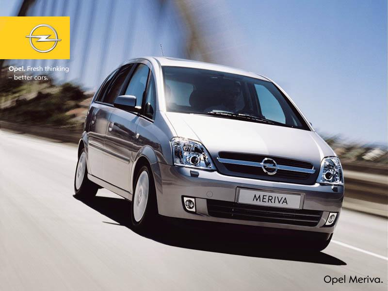 Opel Meriva 2018 >> Opel Meriva A (meriva 2)